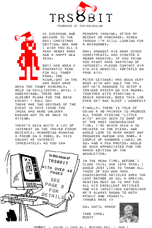Ira Goldklang's TRS-80 Revived Site: News