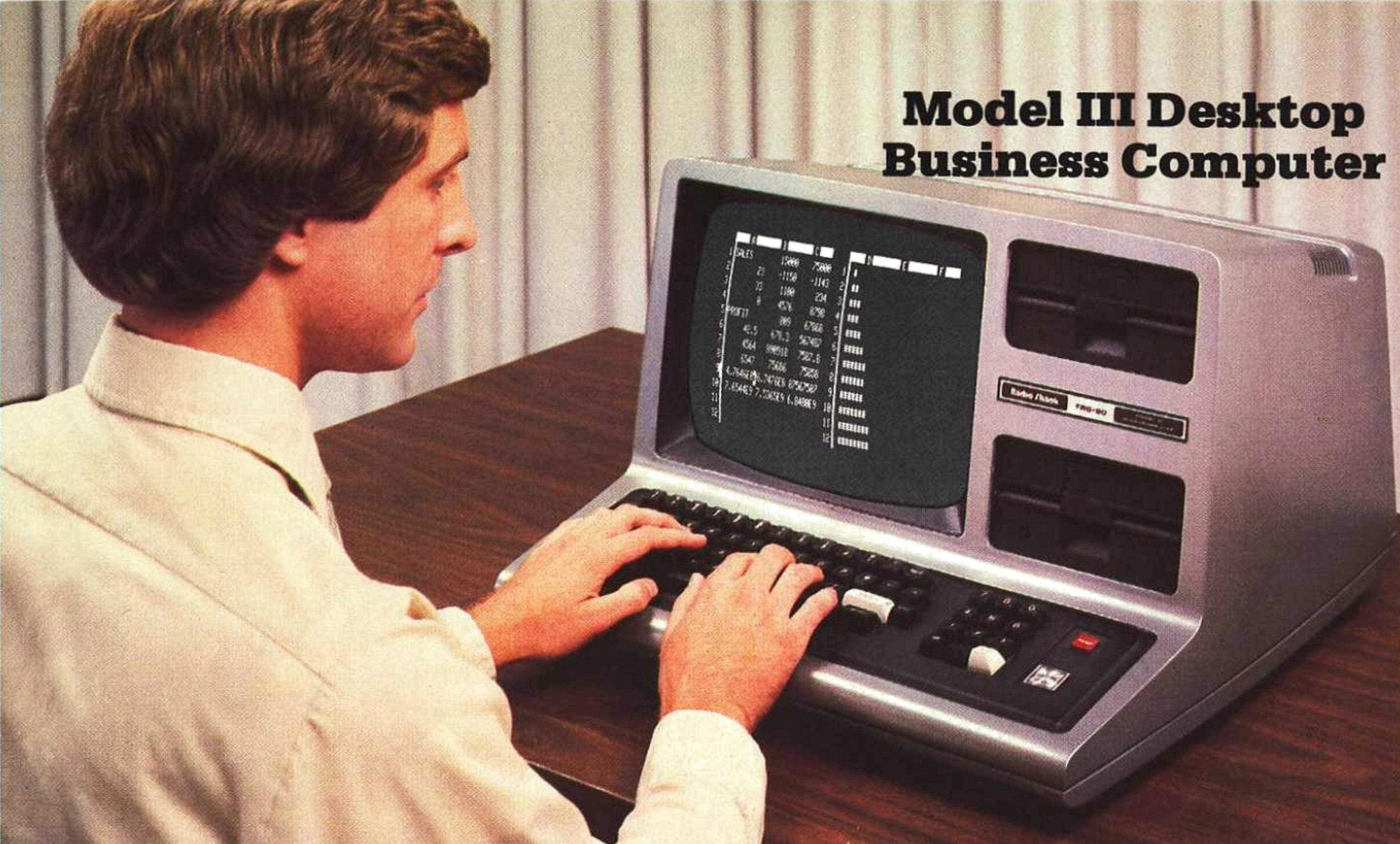[Model III Business Desktop Computer]