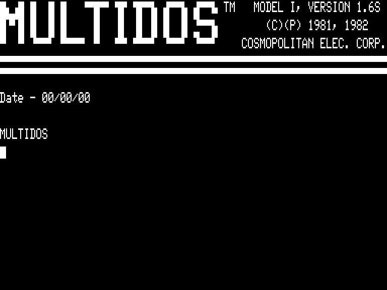 [MultiDOS v1.6S]
